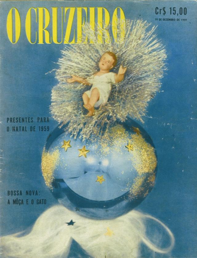 Revista O Cruzeiro edição de 1º de dezembro de 1959. *
