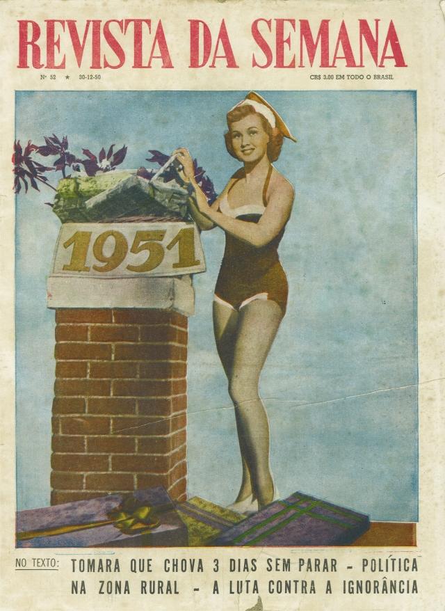 Feliz Natal de 1951. Da Coleção.