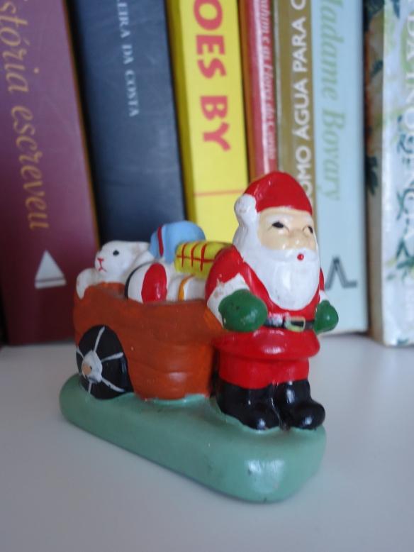 Papai Noel presente o ano inteiro.