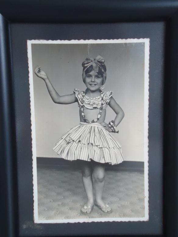 Carnaval de 1960. Aos seis anos.
