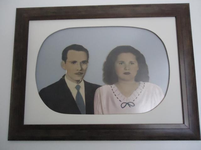 Seo Lourival e D. Aurelina, grandes pais, grandes avós!