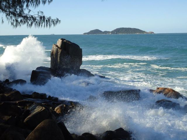 Morro das Pedras. Sul da Ilha de Santa Catarina. Foto: Roney Prazeres