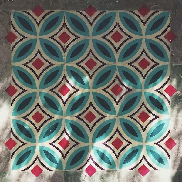 Os azulejos de Javier de Riba. Foto do site.