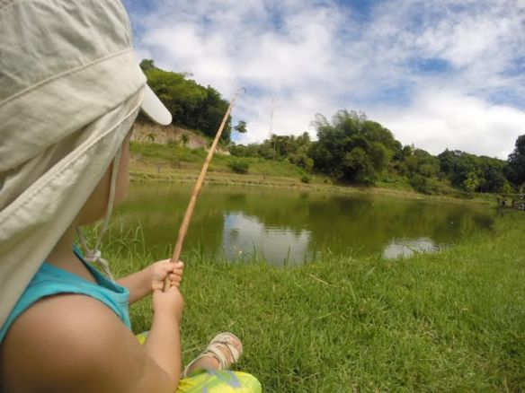 JA pescando.